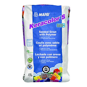 Mapei keracolor sanded grout - charcoal colour