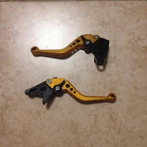 ZX6R Pazzo Levers