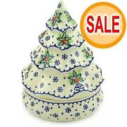 Polish Pottery Christmas Tree
