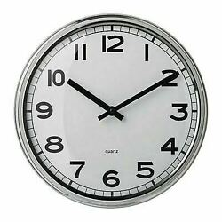 PUGG Wall clock, stainless steel free shipping