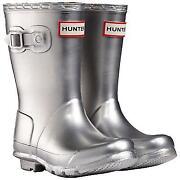 Silver Hunter Wellies