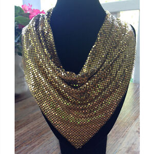 Whiting and Davis Bib Necklace