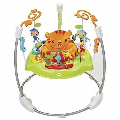 Fisher Price Roarin 'Rainforest Jumperoo Baby Bouncer