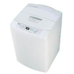 LG PORTABLE APARTMENT SIZE WASHER TOP LOAD H.E ON WHEELS 300 $$