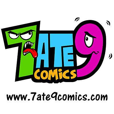 7 ATE 9 COMICS