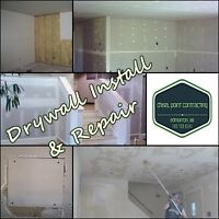 ***DRYWALL SERVICES, RESIDENTIAL AND COMMERCIAL***