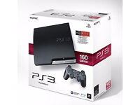 Sony Playstation 3 (160gb slim) + 1 controller & 1 game