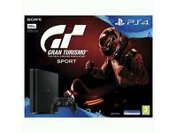 brand new sealed ps4 with game for sale