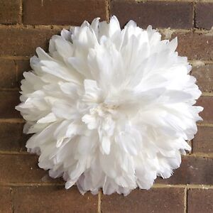 White feathers juju hat wall decoration Cremorne Point North Sydney Area Preview