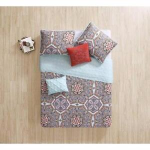 Yara 5 Piece KING Quilt Set by VCNY NEW