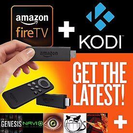Amazon Fire Stick with Kodi 16.1 Fully-Loaded✔️Sports✔️Movies✔️TV✔️Kids✔️