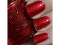 OPI Nail Polish- Danke Shiny Red