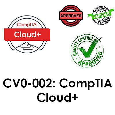 2021 Updated CV0-002, CompTIA Cloud+ Exam, PDF File, Dump