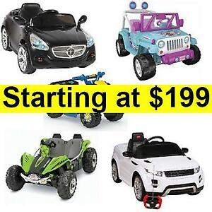 PRICE DROP: KIDS RIDE ON TOY CARS W/ Remote Control | FREE SHIPPING OR PICK UP | RIDEONCARSCANADA.COM OR 1-800-571-6711