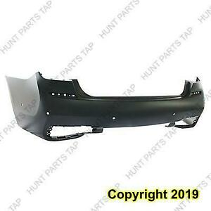 Bumper Rear Primed With M Package/6 Sensor Hole Sedan CAPA BMW 7-Series 2016-2017