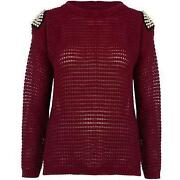 TOPSHOP Studded Jumper