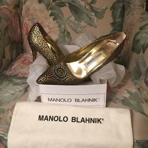 Manolo Blahnik BB 90mm pumps (LIMITED EDITION)