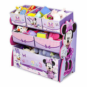 Toy Storage Organizer with 6 Bins