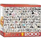Eurographics 2000 2000 - 4999 Pieces Contemporary Puzzles