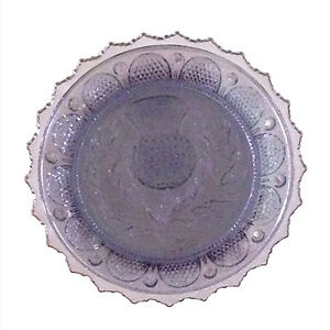 Vintage Pairpoint thistle pattern cup plate