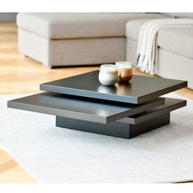Dwell - Rotate Square Coffee Table - Black