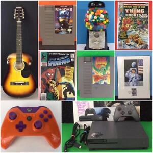 VINTAGE COLLECTOR AUCTION! 900+ LOTS! Furniture, Appliances, Retro Video Games, Electronics, Toys, Art, Sports and MORE!
