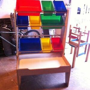 LEGO table with storage