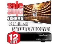 ZGEMMA H.2H VM H.2S IPTV 12 MONTH WARRANTY