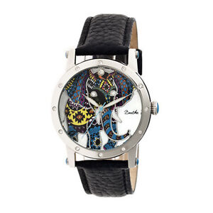 Fabulous Bertha Betsy Ladies Watch Mother of Pearl Elephant Dial