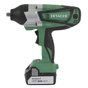 Hitachi Wr18dshl 18v Cordless Impact Wrench