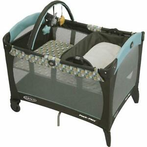 Graco Pack'n Play Playard with Reversible Napper and Changer – Botany