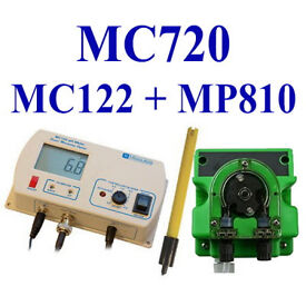 Milwaukee MC122 pH controller + dosing pump (MP810)