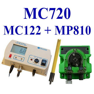 Milwaukee MC122 pH controller + dosing pump (MP810)