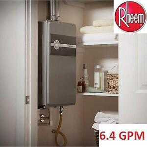 NEW RHEEM NG WATER HEATER ECO150XLN3-1 132786675 TANKLESS 8.4 GPM NATURAL GAS HIGH EFFICIECY OUTDOOR