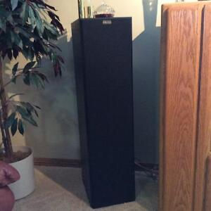 Nuance tower speakers c/w subwoofers & Nuance center channel