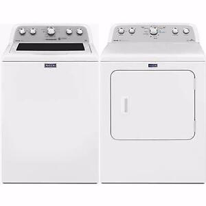 White Washer Dryer Combo, Maytag