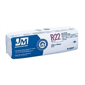 R22 Fibreglass insulation Batt 2x6 walls 48.9 sqft Great Price