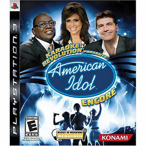 Karaoke Revolution Presents: American Idol Encore Complete! PS3
