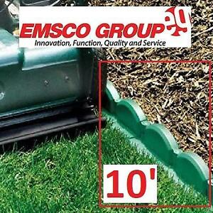 NEW TRIM FREE LANDSCAPE EDGING 10 2036 255315908 EMSCO GROUP Interlocking Adjustable Brick Sections HUNTER GREEN