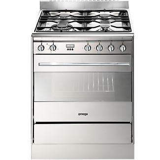 Omega Freestanding Dual Fuel Oven/Stove 60cm BRAND NEW
