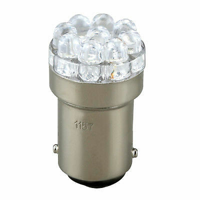 Electrical Light Bulb Double Contact (NON PARALLEL LED BULB BOAT MARINE TRAILER RV LIGHT DOUBLE CONTACT BAYONET B15D )
