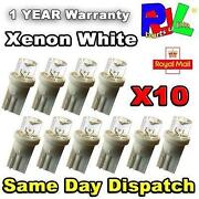Xenon Number Plate Bulbs