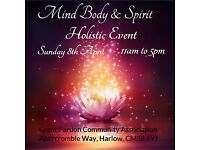 Mind Body Spirit Holistic Event