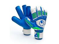 Uhlsport Eliminator Aquasoft Goalkeeper Gloves size 10