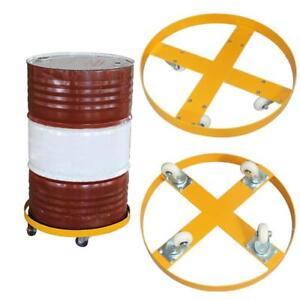 55 Gallon 900 lb. Capacity Steel Drum Dolly 021020