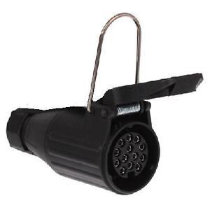 stecker 13 polig auto motorrad teile ebay. Black Bedroom Furniture Sets. Home Design Ideas