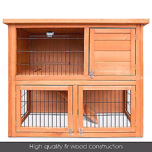 *❤*DOUBLE STORY HUTCH $130 PACKAGE DEAL BABY MINI LOPS Londonderry Penrith Area Preview
