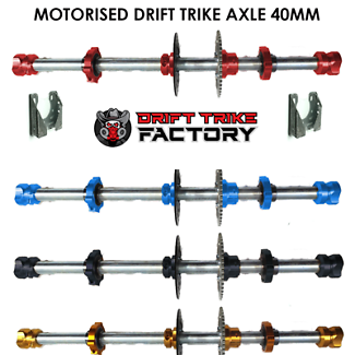 40mm Go Kart Axle Perfect For Motorised Drift Trikes