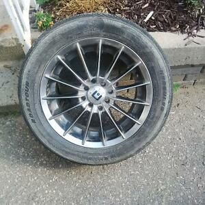 "Motegi 16"" Racing Rims - Honda Civic Kitchener / Waterloo Kitchener Area image 1"