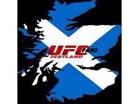 UFC Scotland Tickets